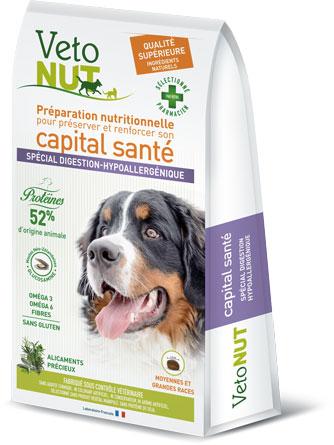 Sac de croquettes Grand chien digestion hypoallergénique