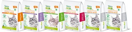 Paquets de croquettes VetoNUT pour chat
